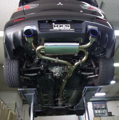 HKS: Super Turbo Muffler: Evo X - Ross Sport Ltd