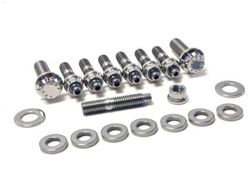 Ross Sport: SS Exhaust Manifold Stud & Nut Kit - Evo 4-9