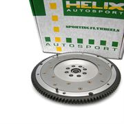 HELIX: TWIN ORGANIC PLATE CLUTCH/FLYWHEEL: EVO 4-9