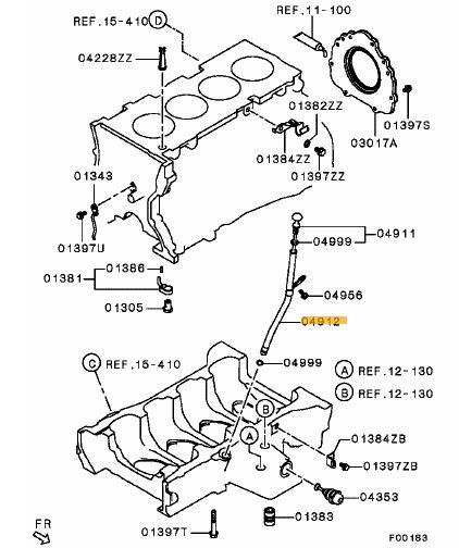 Evo X Engine Diagram