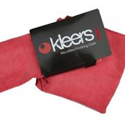 KLEERS: MICROFIBRE CLOTH