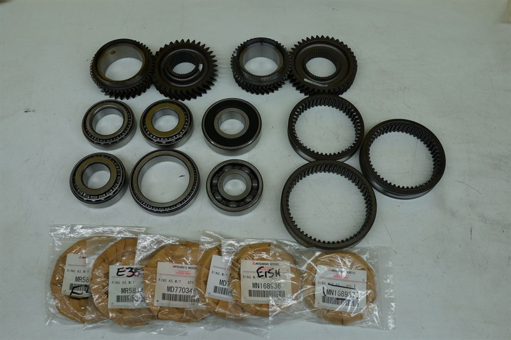 Ross Sport: 5 Speed Gearbox Refresh Kit With RS Ratio Upgrade (Evo 8RS /  8MR RS)