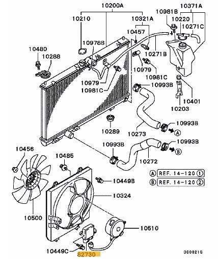 Fan Control Motor Evo 7-9