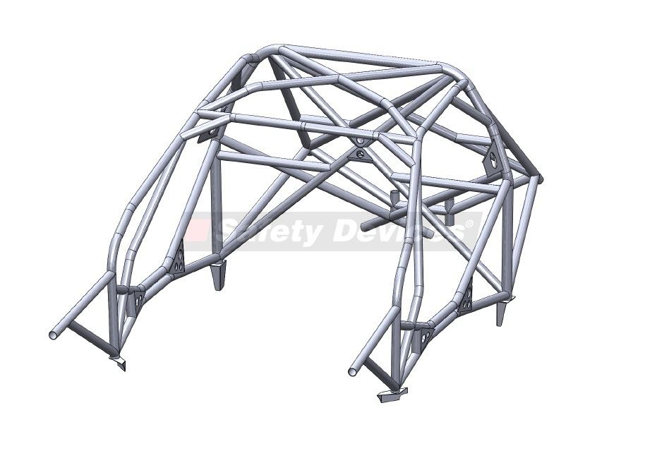 Safety Devices Full Weld In Roll Cage - Evo 4-6