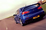 EVO X FQ-400: REAR BUMPER ASSEMBLY (C/W CARBON REAR DIFFUSER FOR STANDARD TWIN EXIT EXHAUST)