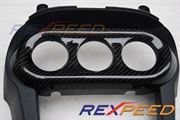 Rexpeed AC Panel Carbon Cover - Evo X