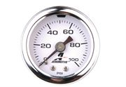 "AEROMOTIVE: FUEL PRESSURE GAUGE (1/8"" NPT): 0-100 PSI"