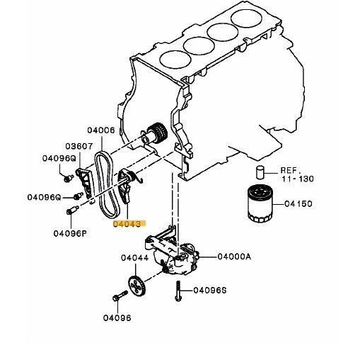 tensioner engine oil pump chain evo x ross sport ltd EVO 10 Engine Intake Manifold tensioner engine oil pump chain evo x