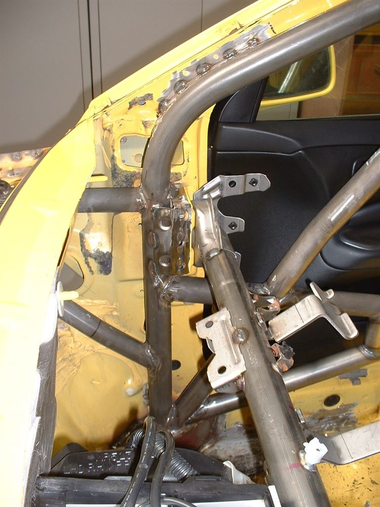Safety Devices Full Weld In Roll Cage - Evo 7-9