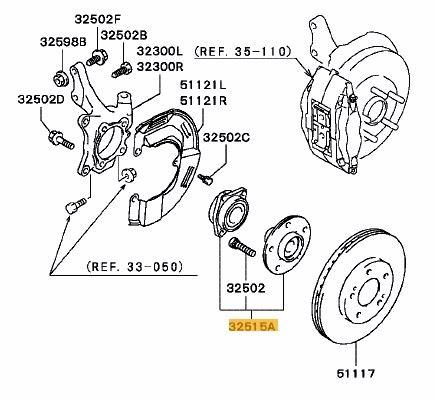 Front Wheel Bearing >> Front Wheel Bearing Evo 4 6