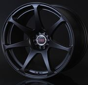 Hyper Zero: '1' Wheels (18 x 9.5, +23, Flat Black, Set of Four)