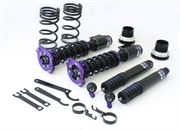 D2: Racing Coilovers (W/ Rubber Mount Pillow Ball Top): Evo 4-6
