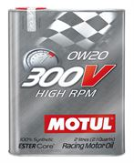 MOTUL: 300V HIGH RPM 0W20 (2L)