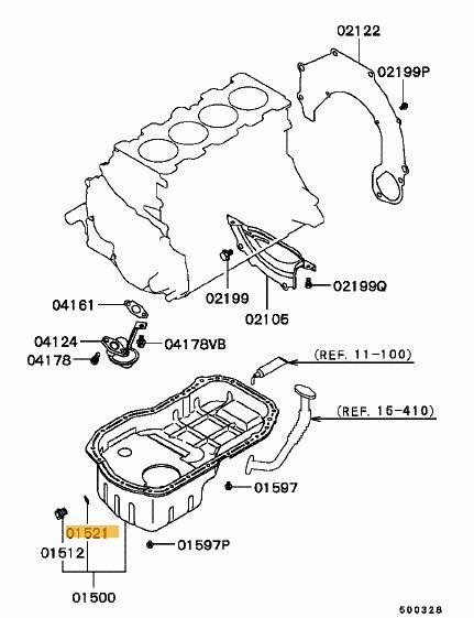 Sump Plug Washer Evo 1-10