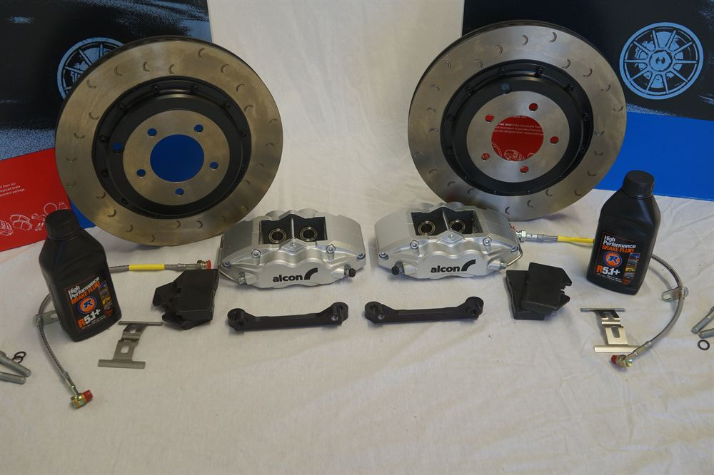 Alcon: ADeX: 350mm Rear Brake Kit: Nissan 350Z