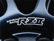 ADVAN: Racing RZ-II Dedicated Sticker Berween Nut Holes