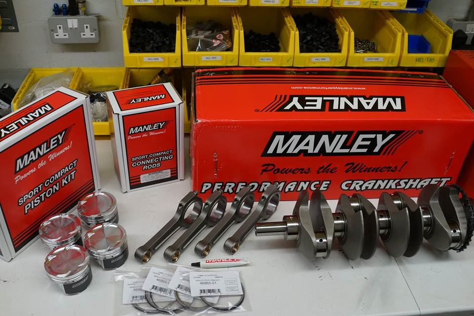 Manley: Evo 4-9 4G64 2 1l Engine Kit Super Long Rod (88mm Crank x