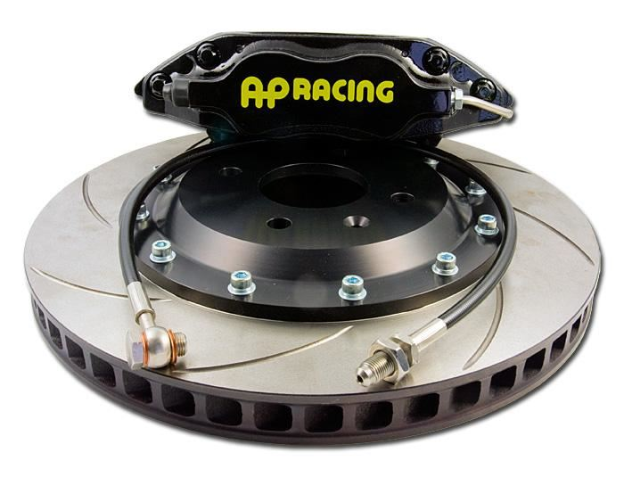 AP Racing: Rear 4 Piston Big Brake Kit (Discs Not Included) - Evo 4-6