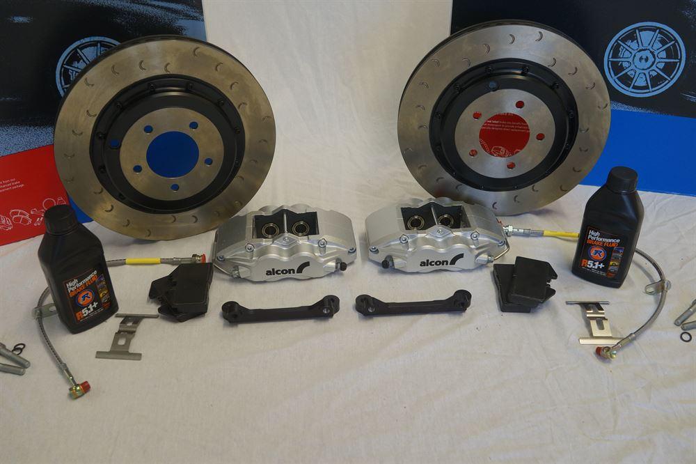 Alcon: ADeX: 330mm Rear Brake Kit: Evo IV - IX