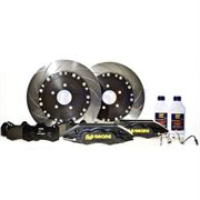 AP Racing: Front 362mm Grooved 6 Piston Big Brake Kit - Evo 7-9