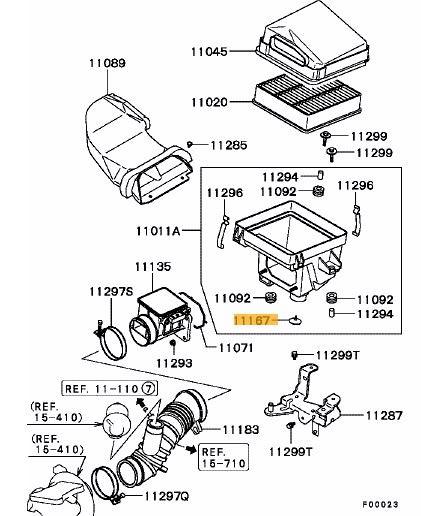 2000 Mitsubishi Montero Sport Fuel Filter