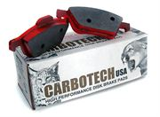 Carbotech XP10: Rear Pad Set: Evo 1-3 / Evo 4 GSR / 4-9 RS Gravel Calliper