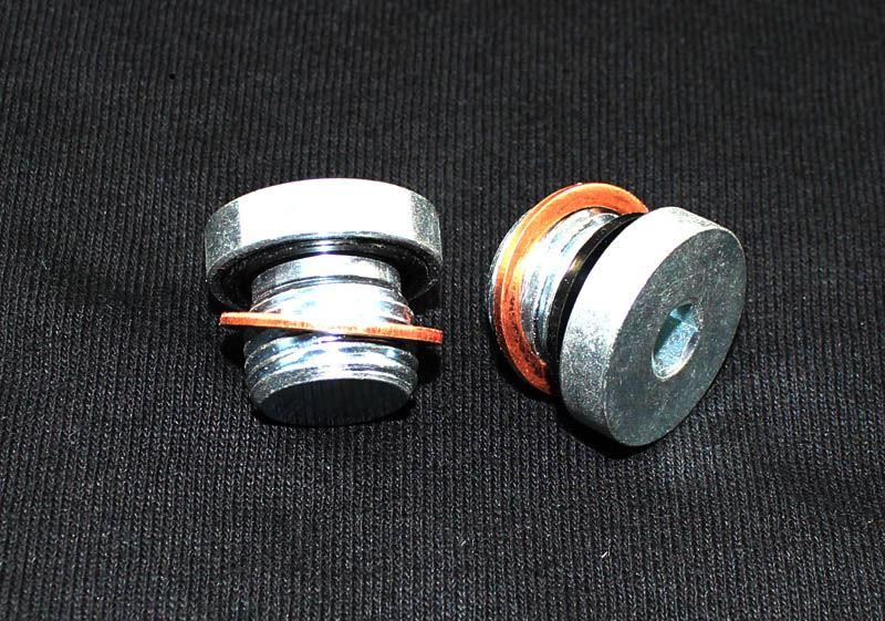 Oil Filter Block Off Plug Evo 6 10 Ross Sport Ltd